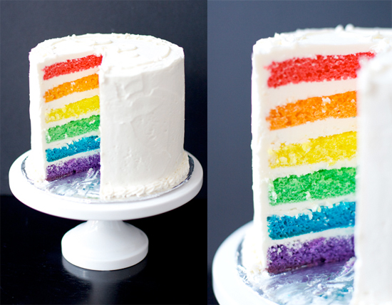 rainbow cake recipe good to know rainbowcake