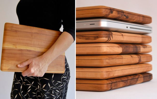 Wooden Laptop Case...or Cutting Board? - Blush and Jelly