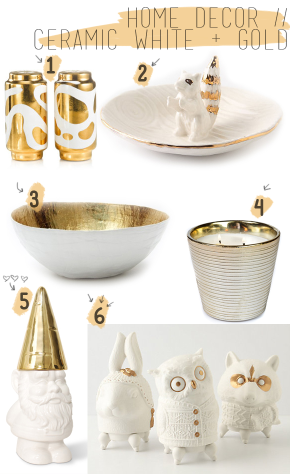 White And Gold: White And Gold Home Decor
