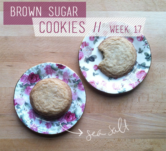 The Cookie Challenge // Week 17: Brown Sugar Cookies - Blush and Jelly