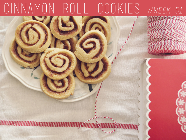 The Cookie Challenge // Week 51: Cinnamon Roll Cookies
