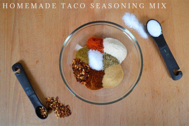 Recipe // Homemade Taco Seasoning Mix - Blush and Jelly