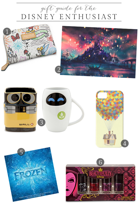 Gift Guide for the Disney Enthusiast