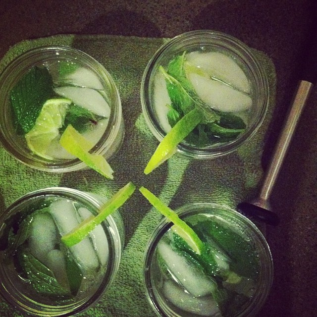 Making Mojitos