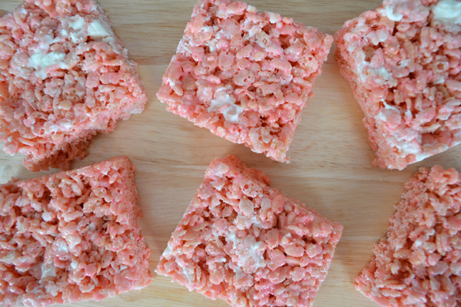 White Chocolate Peppermint Marshmallow Squares Recipe