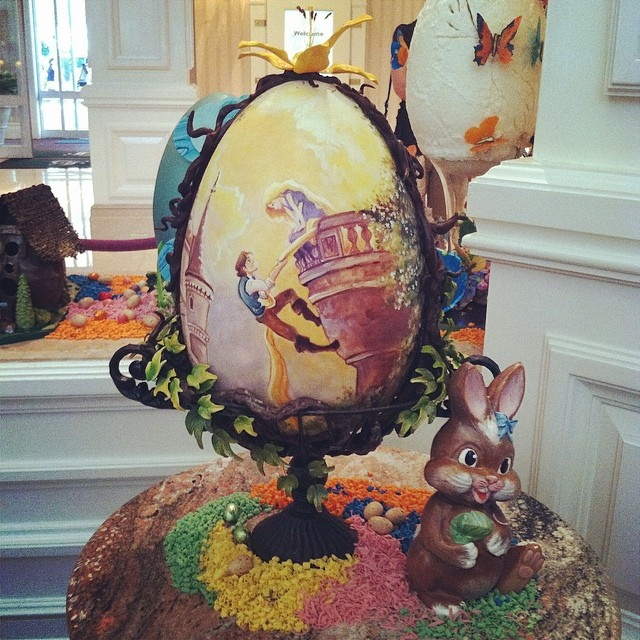 Extra Large Easter Egg at Disney