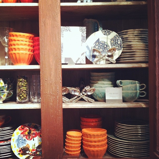 Pretty Plates at Anthropologie