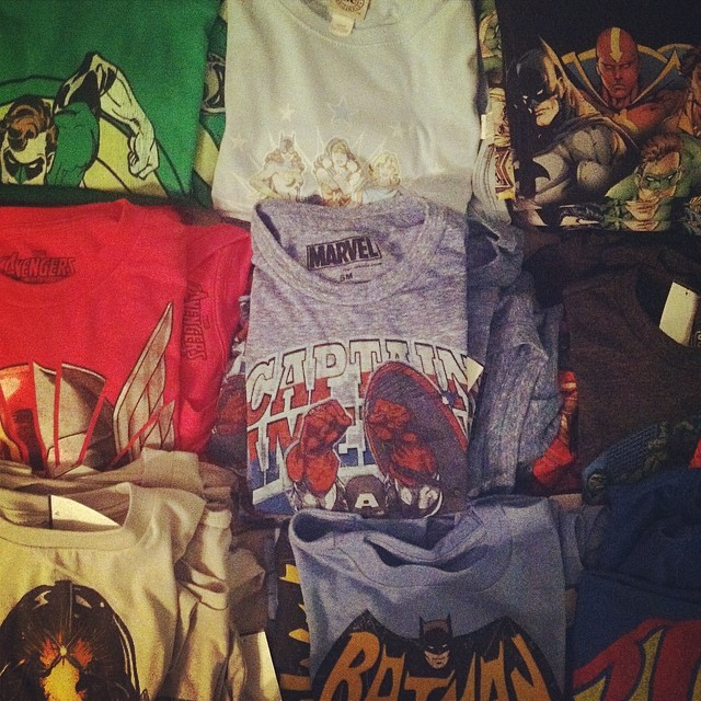 Shirts and More Shirts
