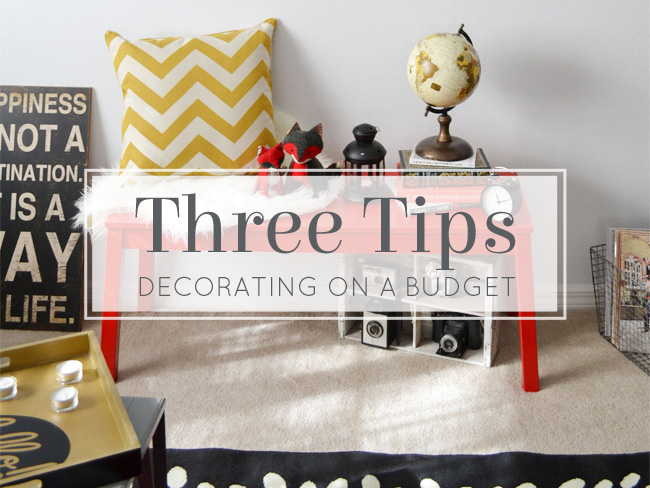 home decor budget tips how to decorate on a budget