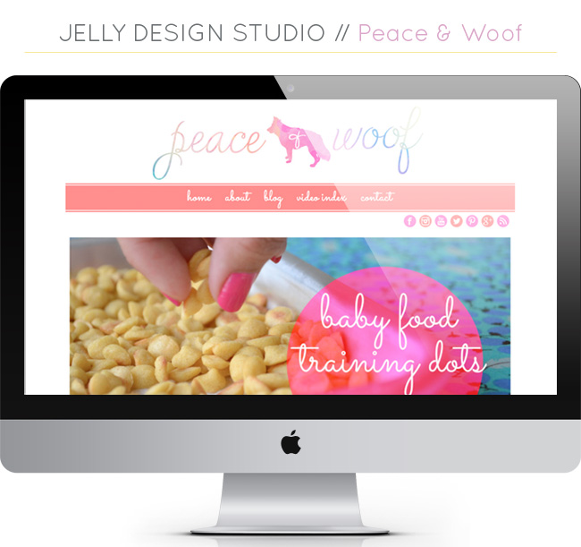 Web Projects // Peace & Woof