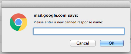 Setting up Canned Responses within Gmail