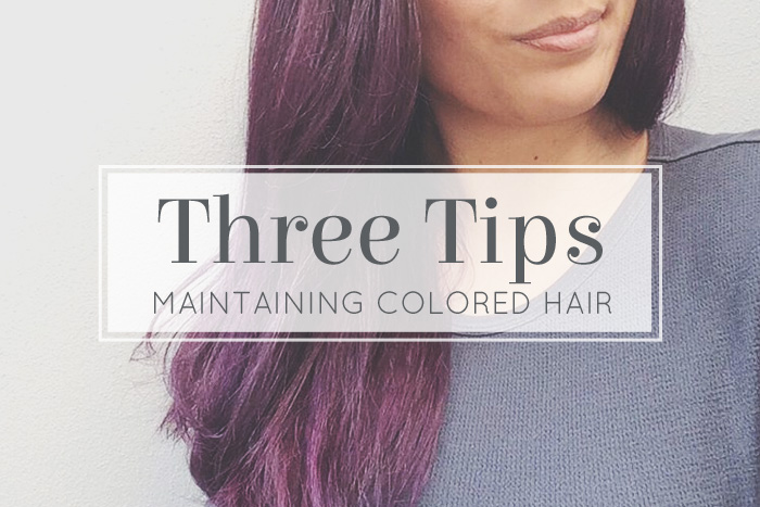 Maintaining Color Treated Hair From Fading