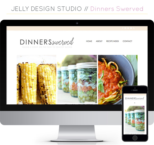 Web Projects // Dinners Swerved