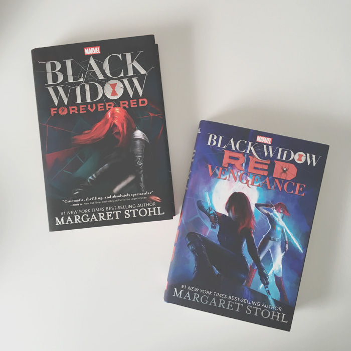 Black Widow Series by Margaret Stohl