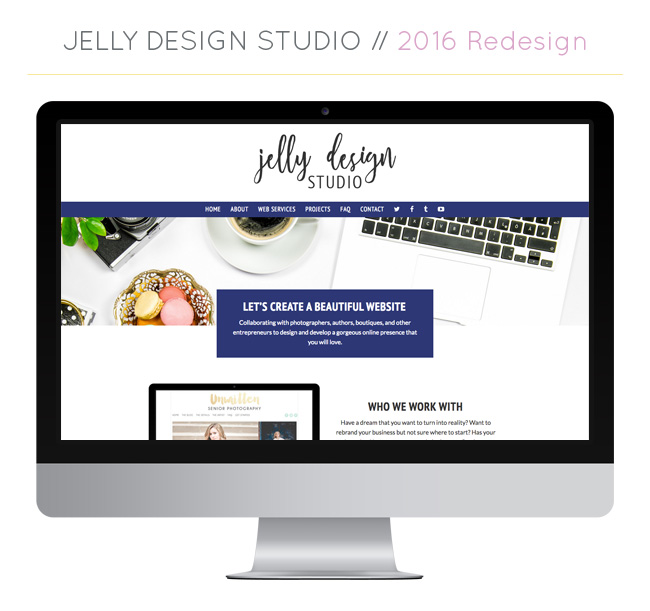 A New Look for Jelly Design Studio!