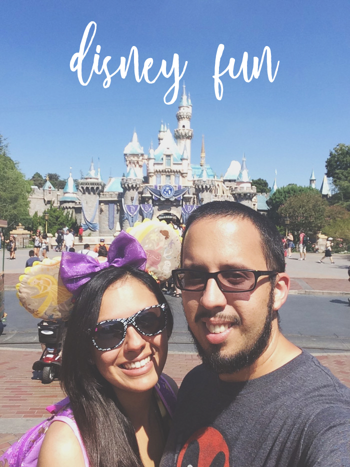 Disney Fun on Blush + Jelly